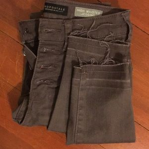 Aeropostale high rise skinny jeans